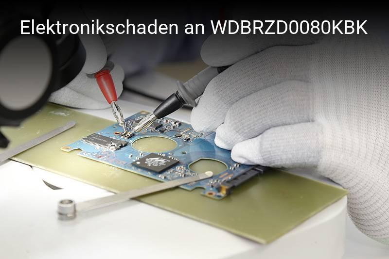 Western Digital WDBRZD0080KBK