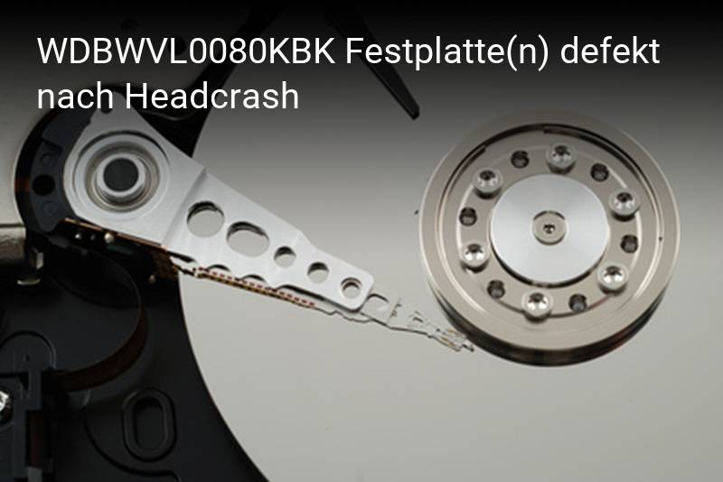 Western Digital WDBWVL0080KBK