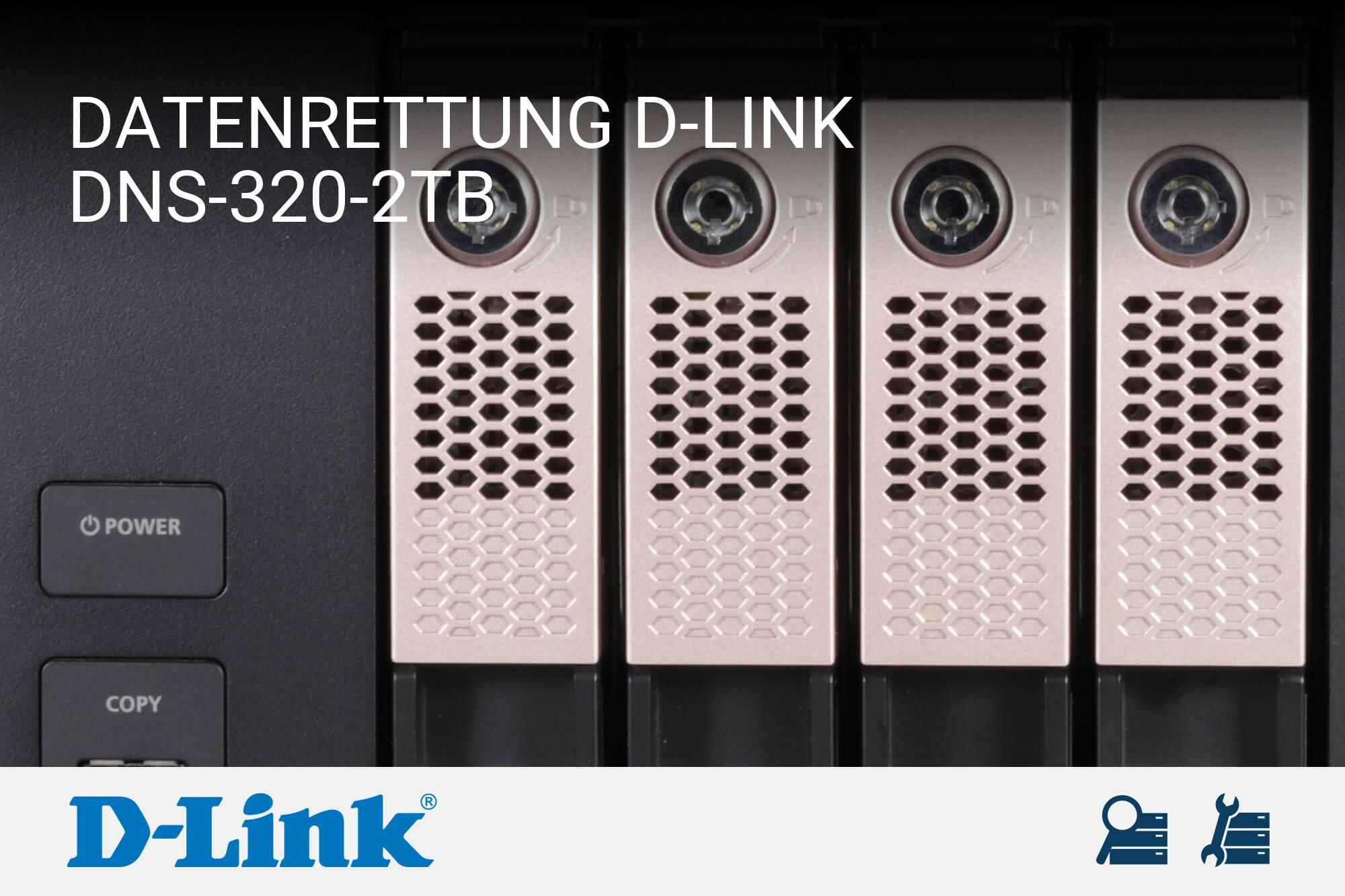 D-Link DNS-320-2TB