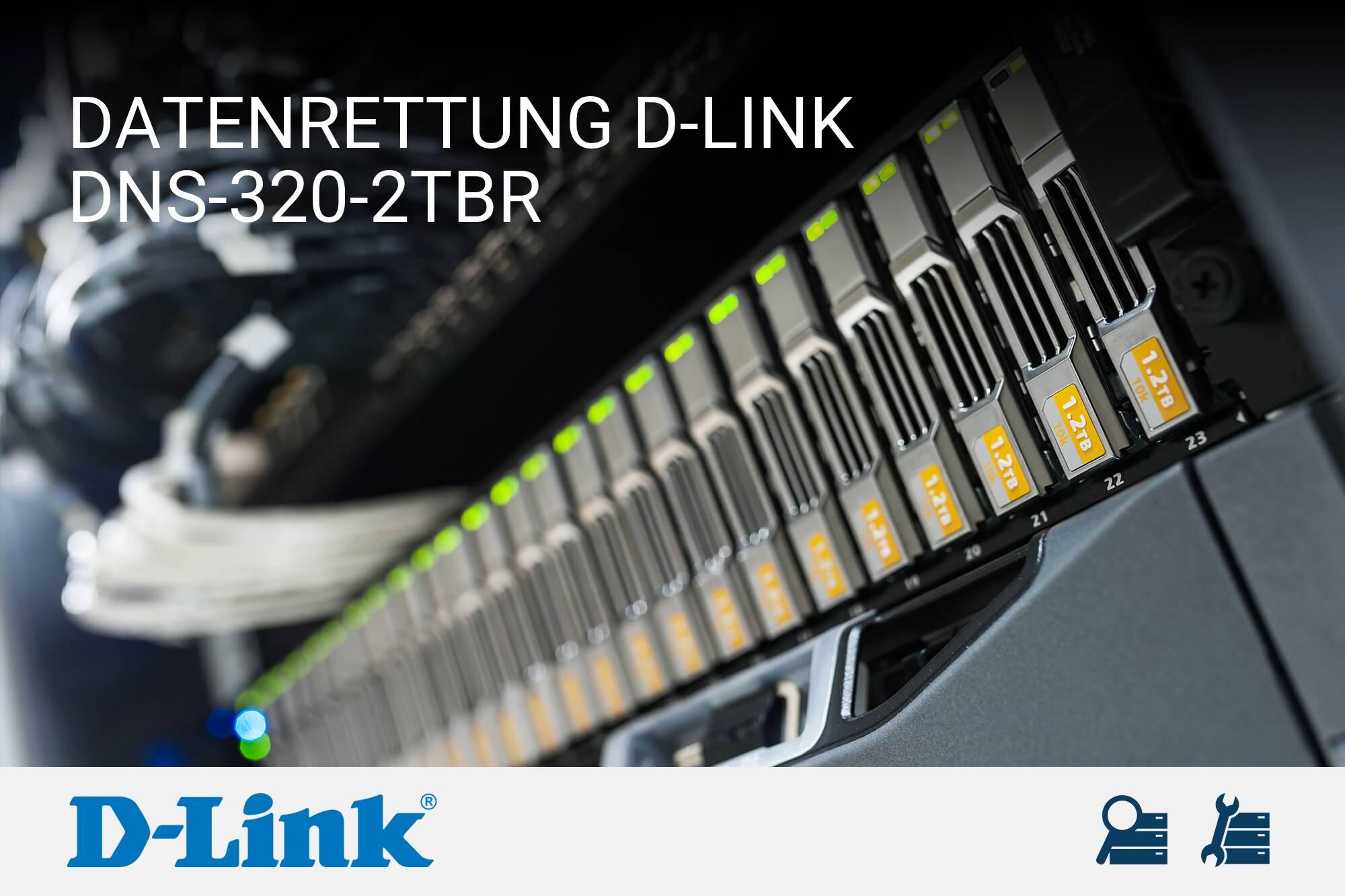 D-Link DNS-320-2TBR