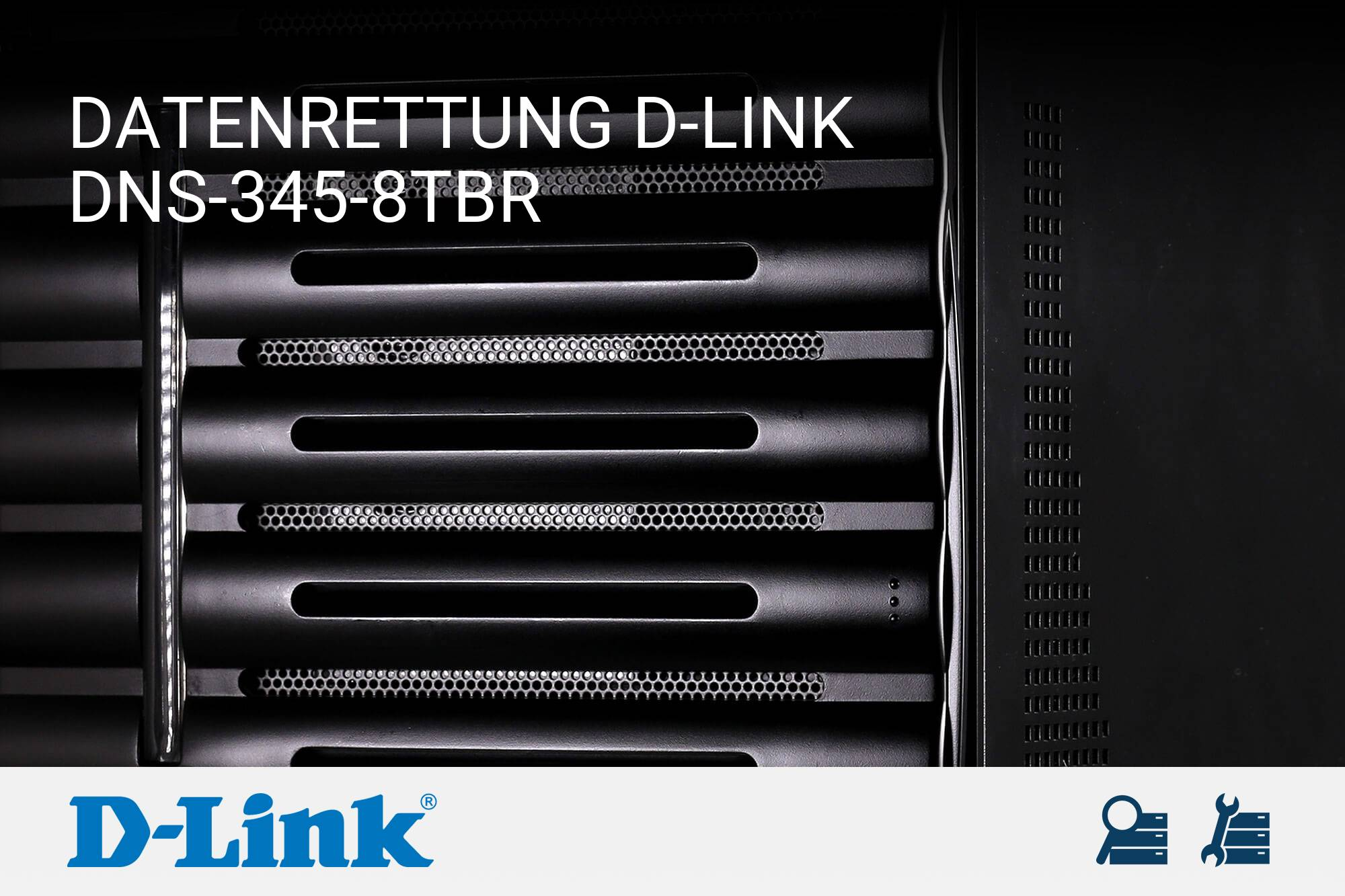 D-Link DNS-345-8TBR