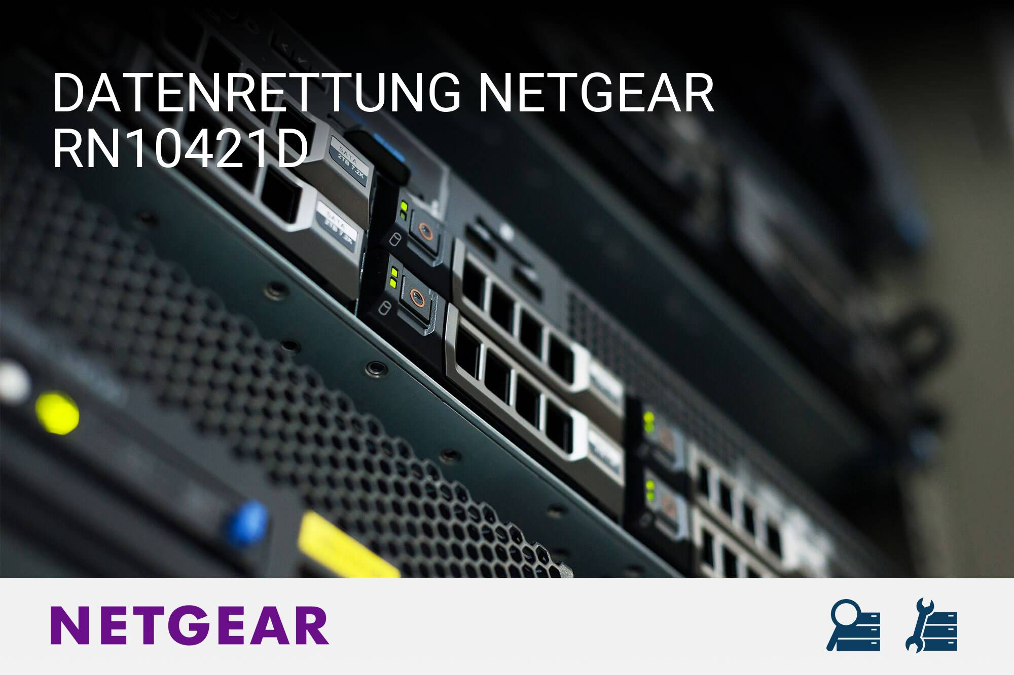 Driver for NETGEAR RN10421D NAS