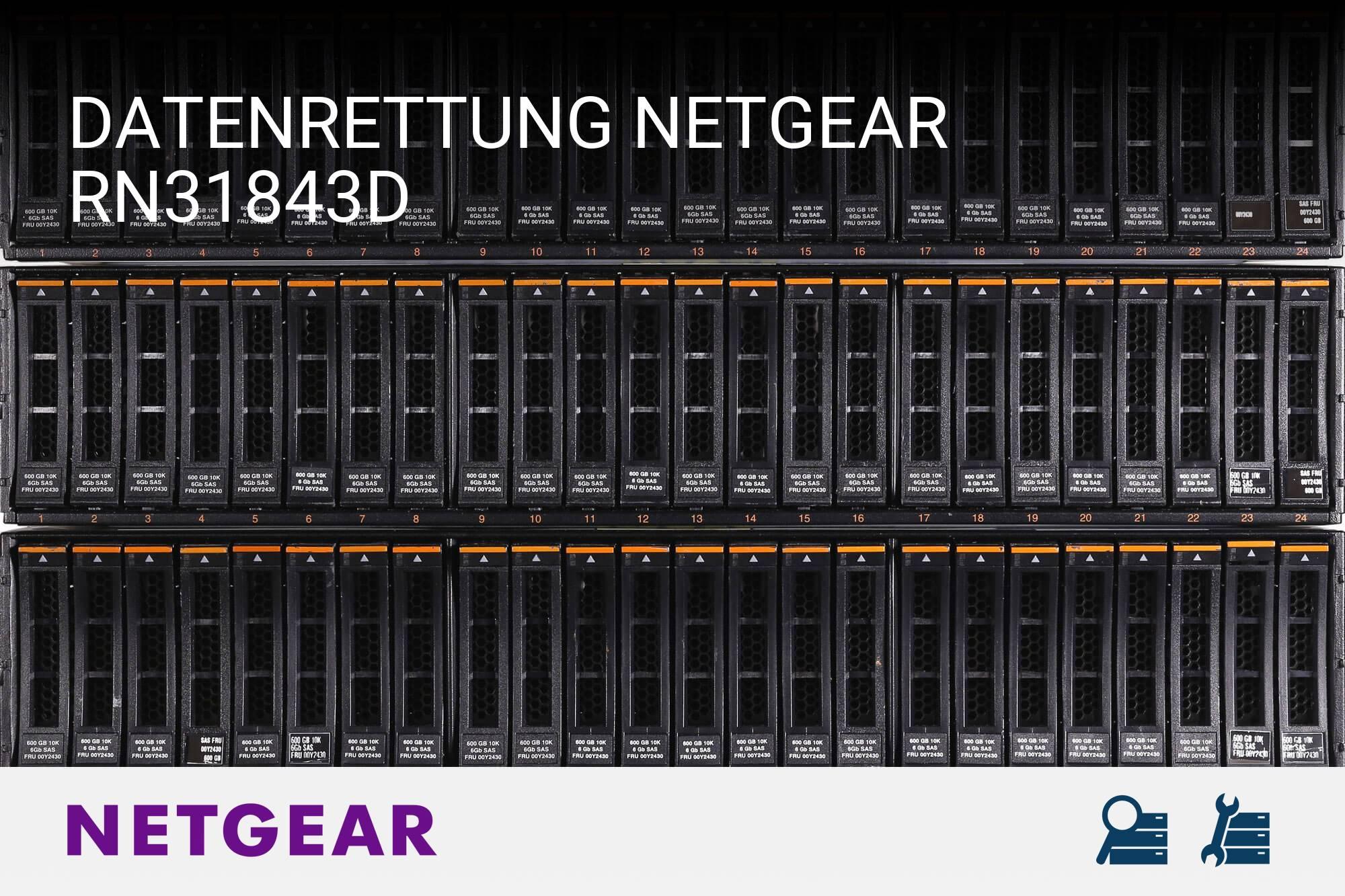 Netgear RN31843D