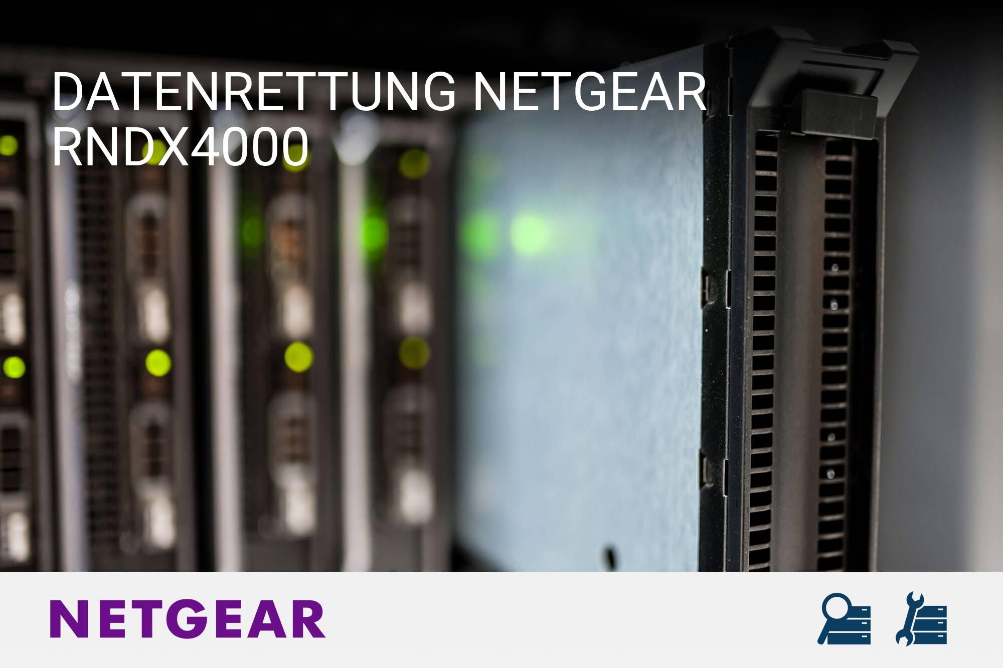 Netgear RNDX4000