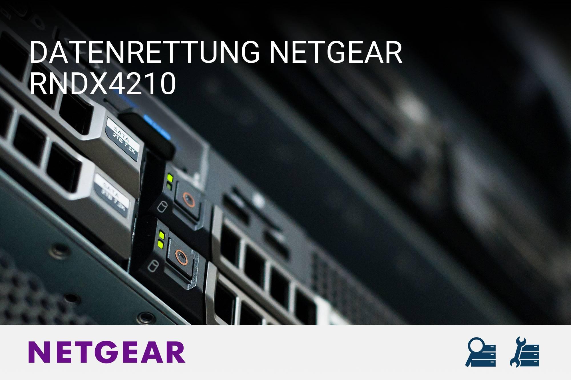 Netgear RNDX4210