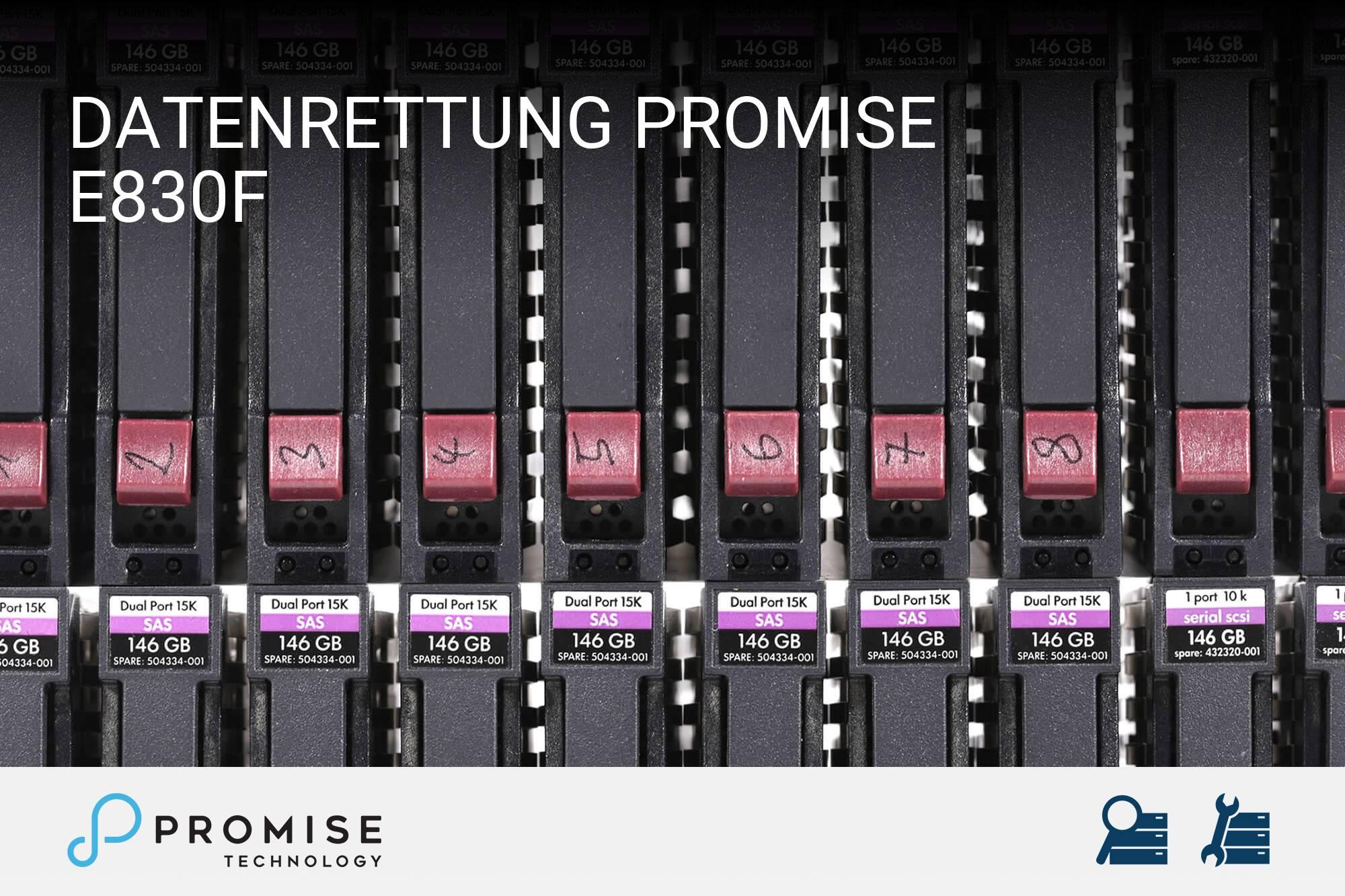 Promise E830f