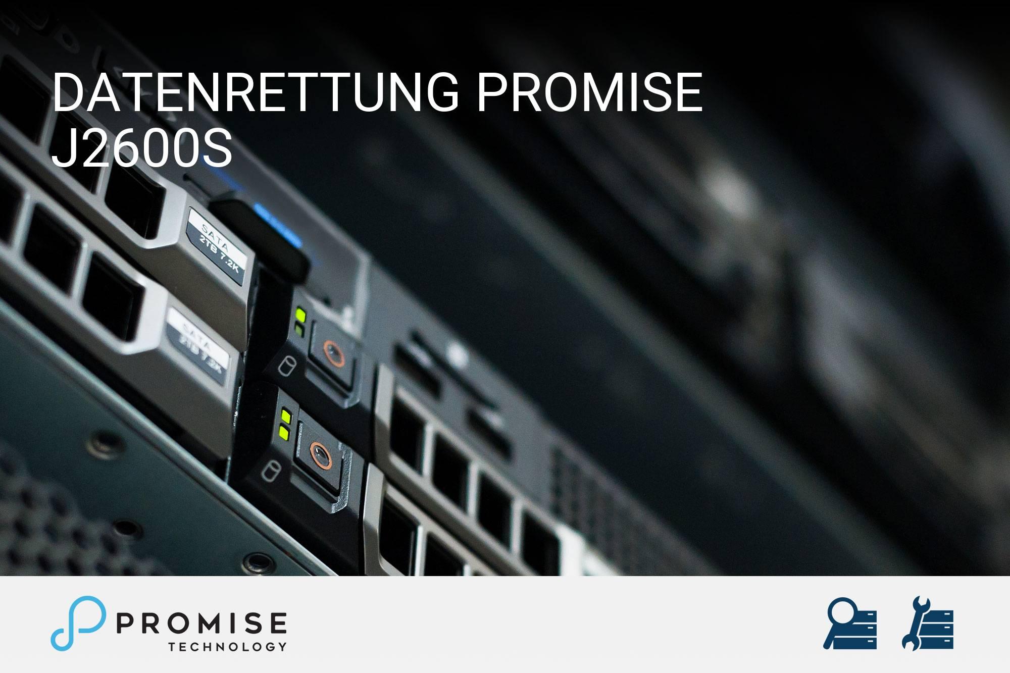 Promise J2600s