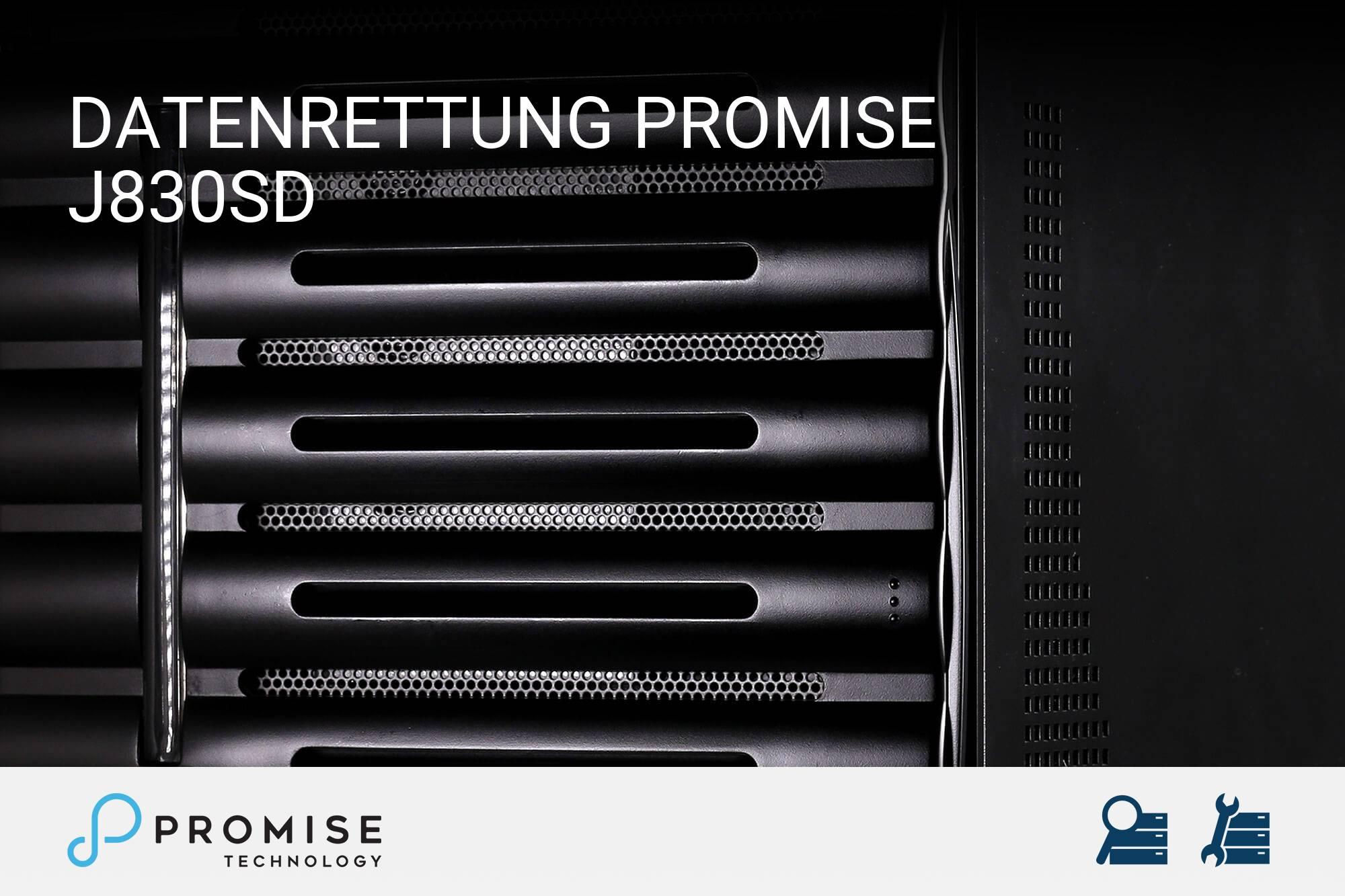 Promise J830sD
