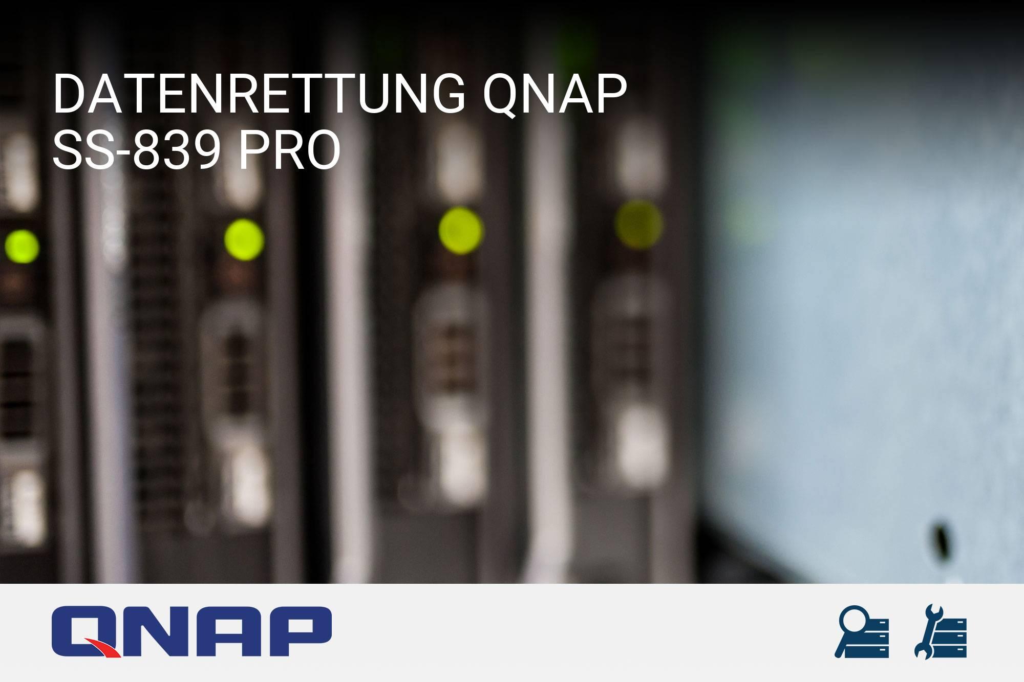QNAP SS-839 Pro