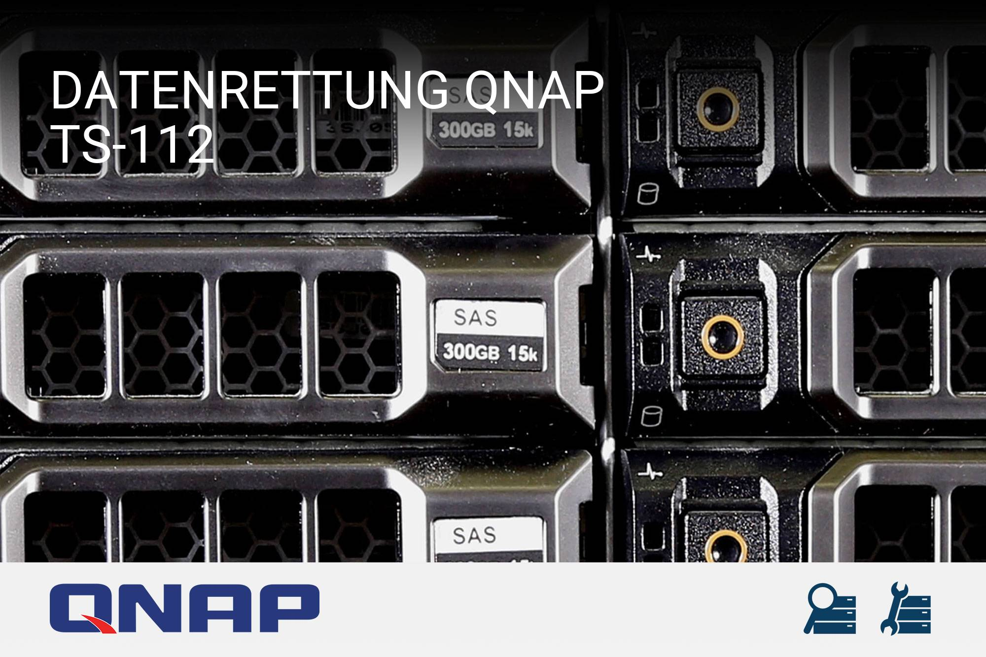 datenrettung qnap turbostation ts 112 server recovery. Black Bedroom Furniture Sets. Home Design Ideas