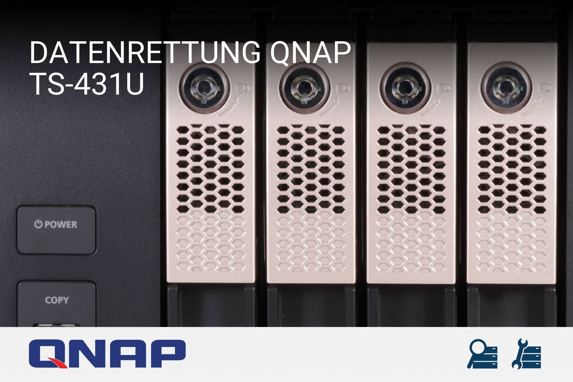 QNAP TS-431U