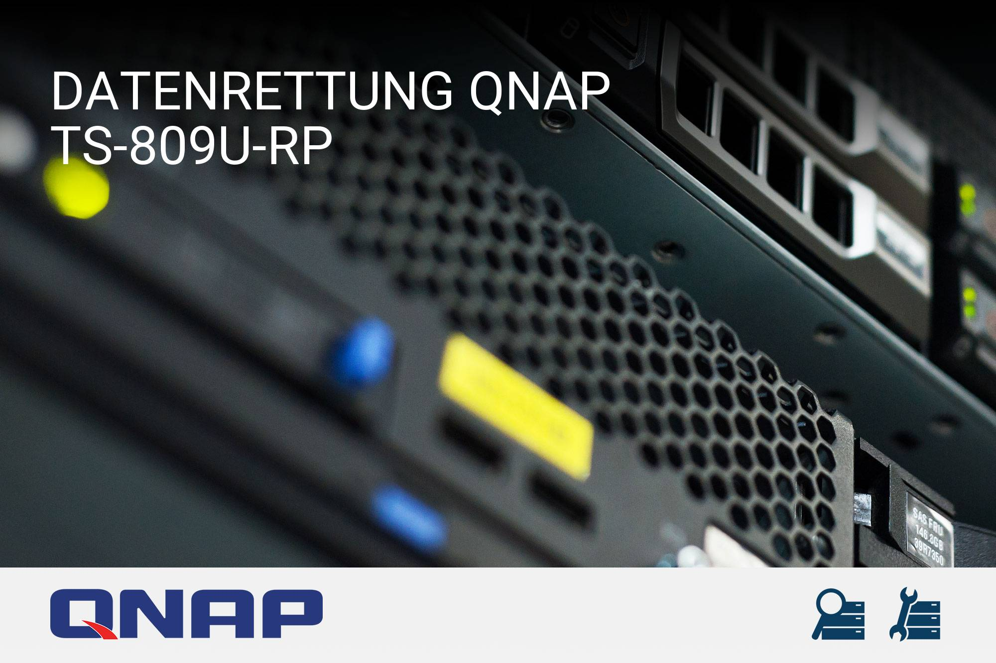 datenrettung qnap turbostation ts 809u rp server recovery. Black Bedroom Furniture Sets. Home Design Ideas