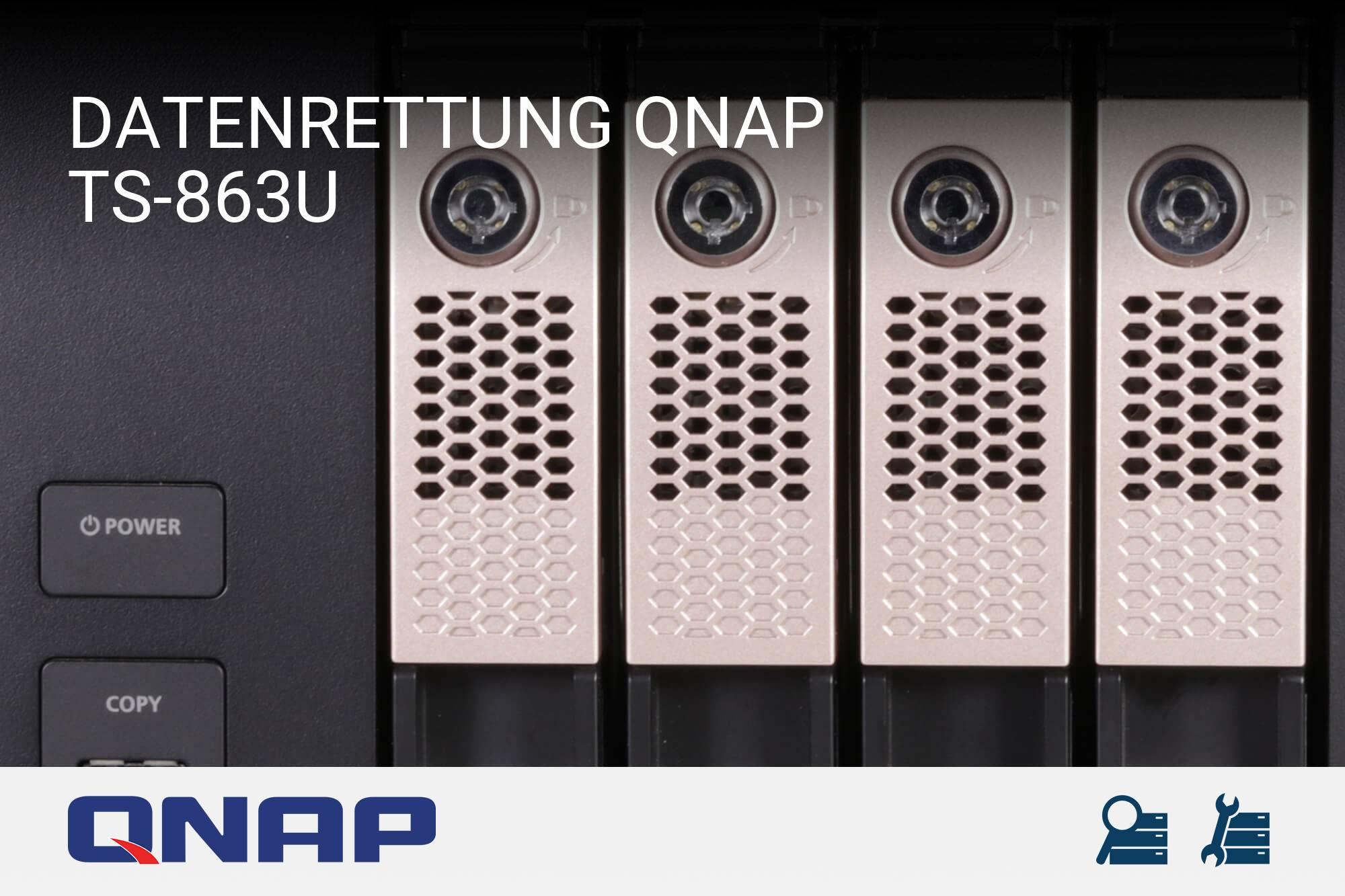 QNAP TS-863U