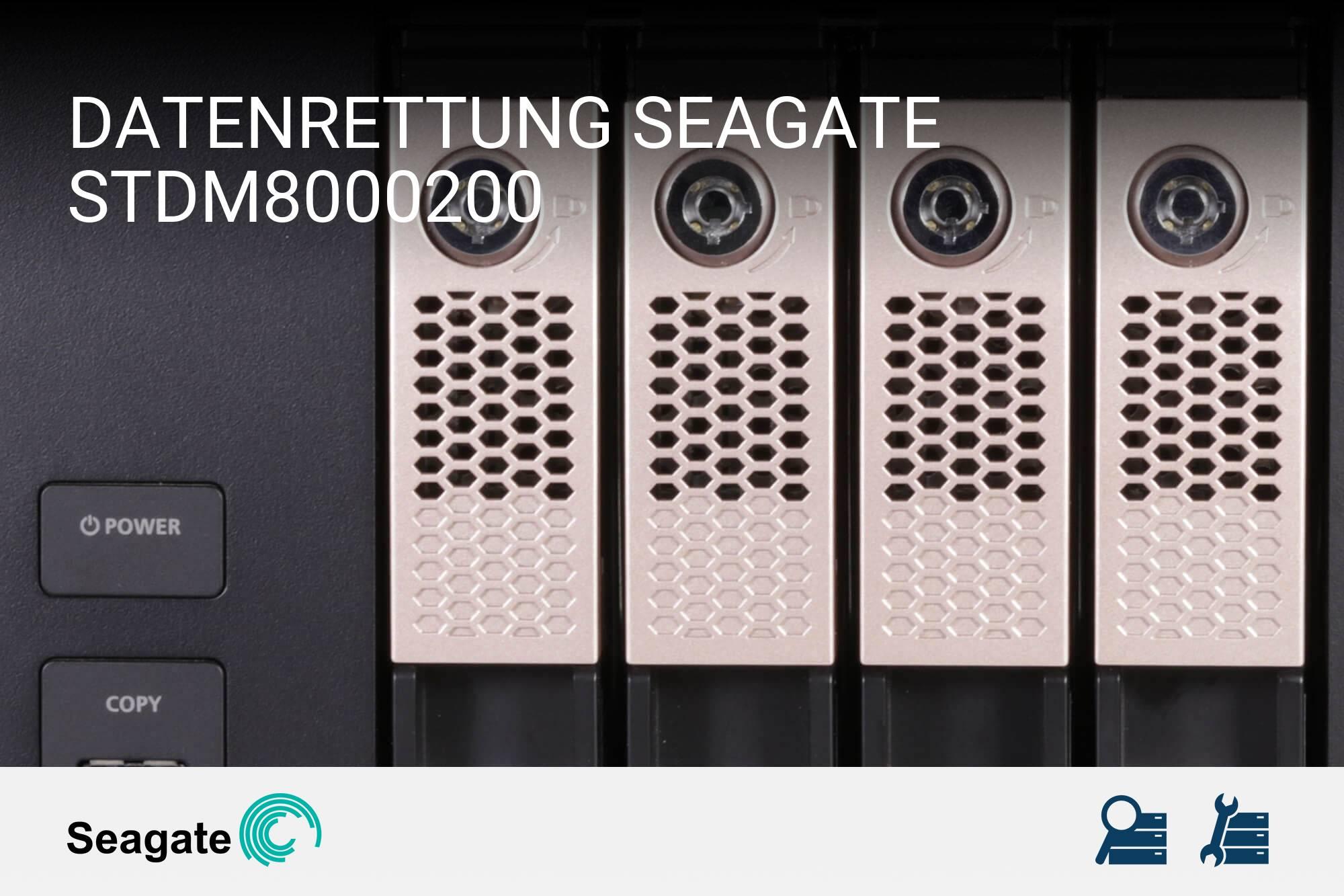Seagate STDM8000200