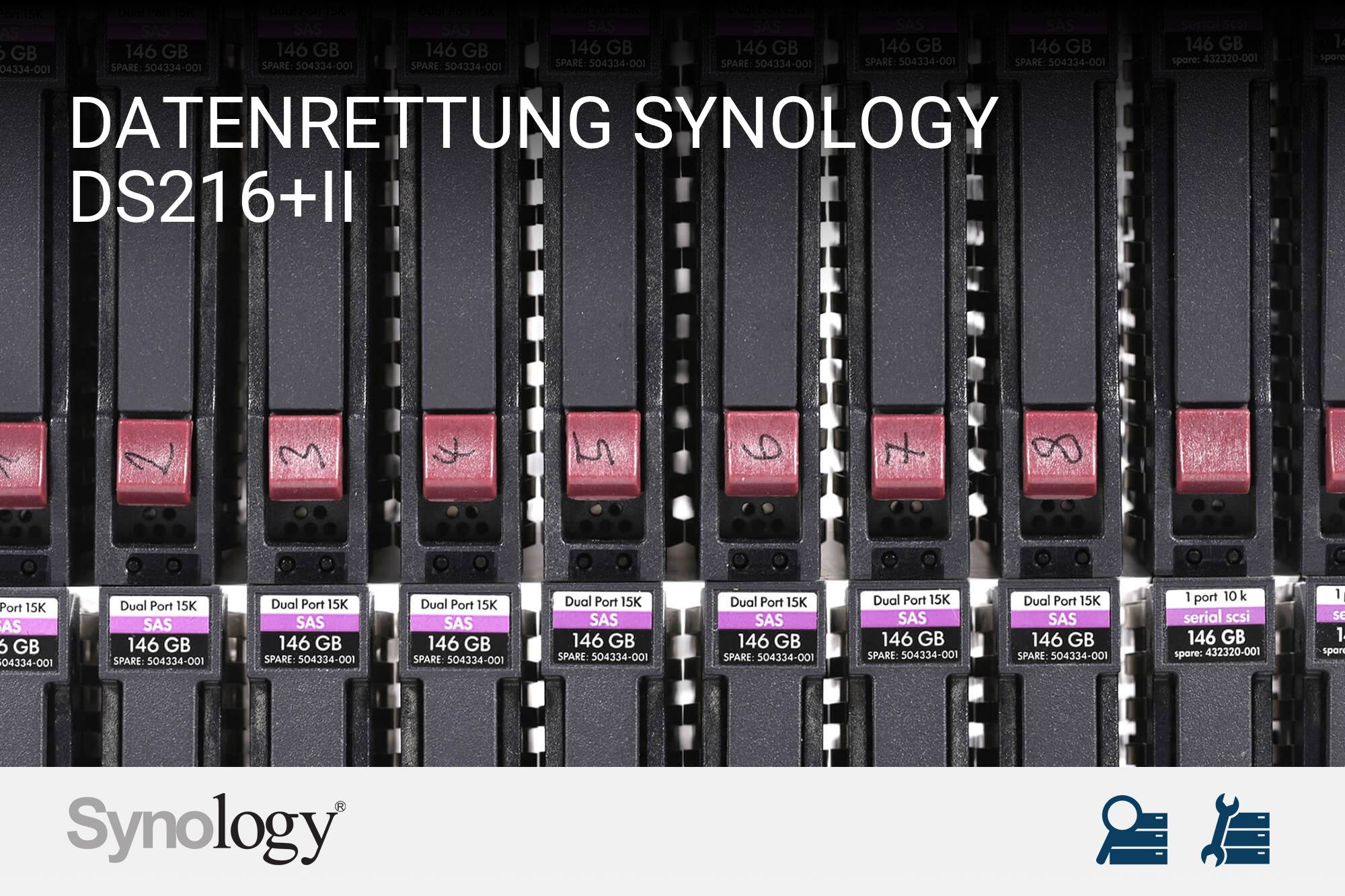 Synology DS216+II