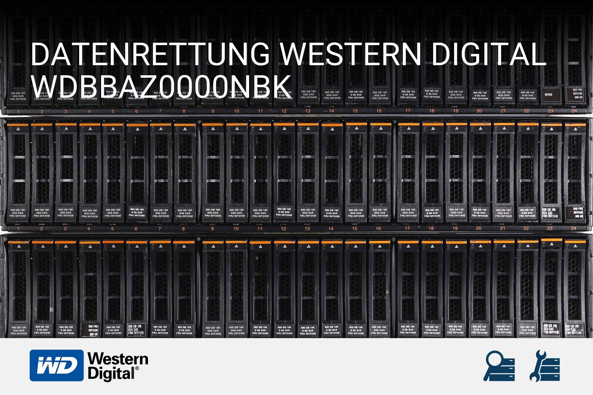 Western Digital WDBBAZ0000NBK