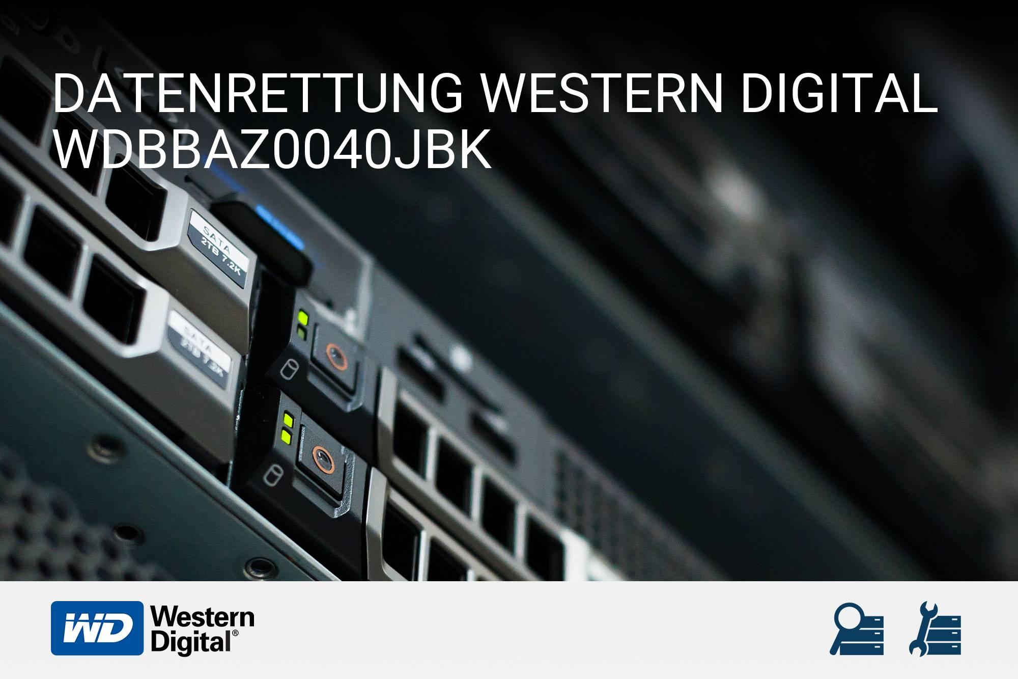 Western Digital WDBBAZ0040JBK