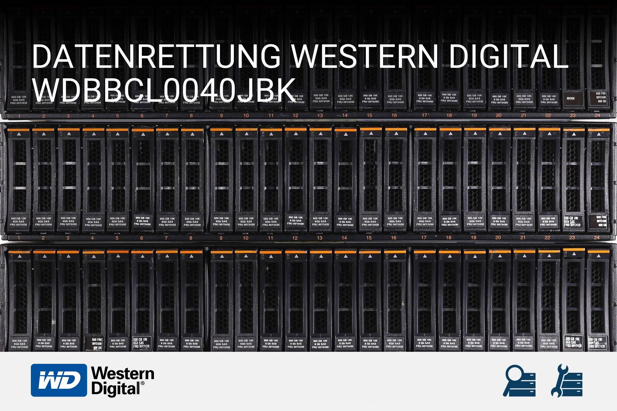 Western Digital WDBBCL0040JBK