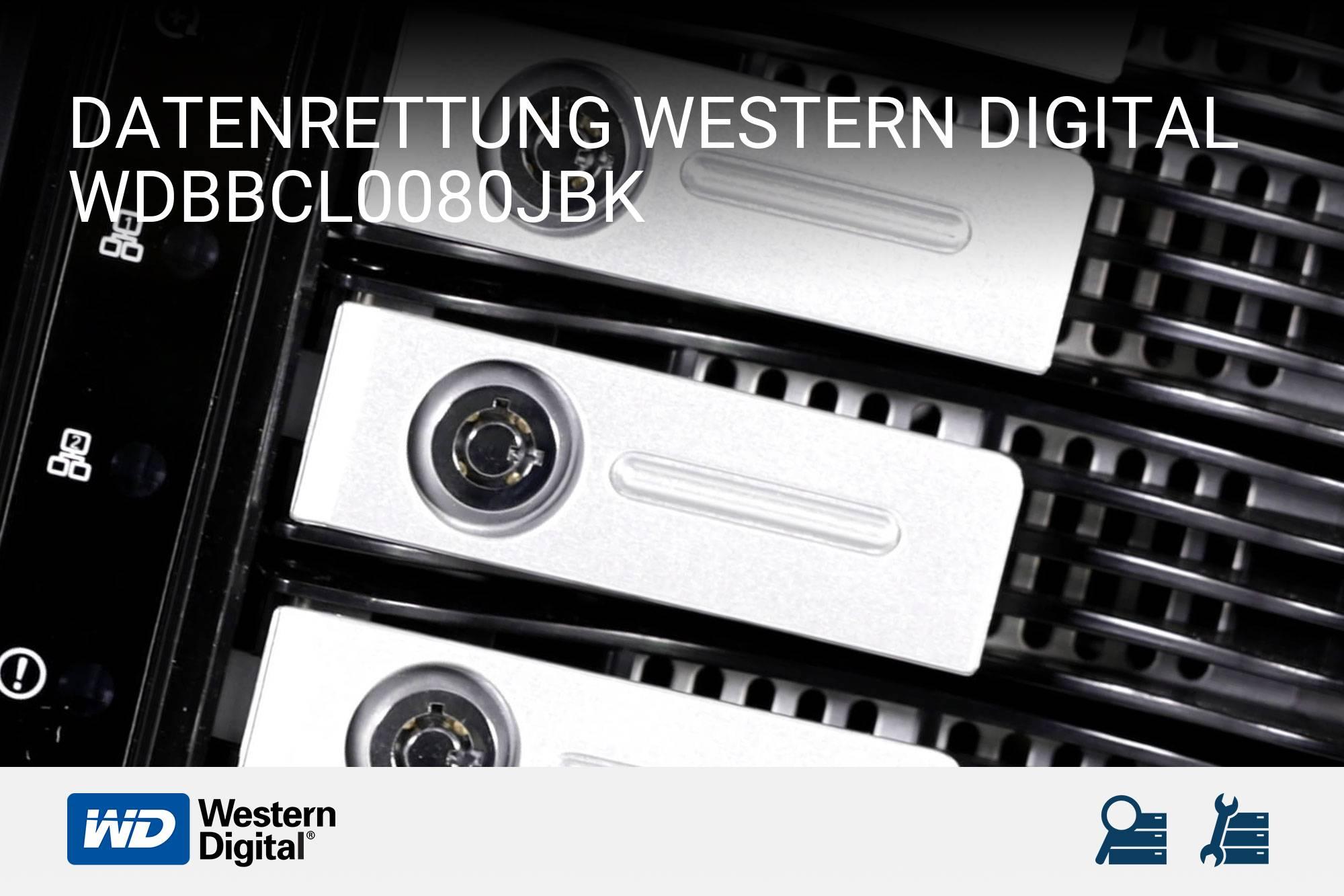 Western Digital WDBBCL0080JBK