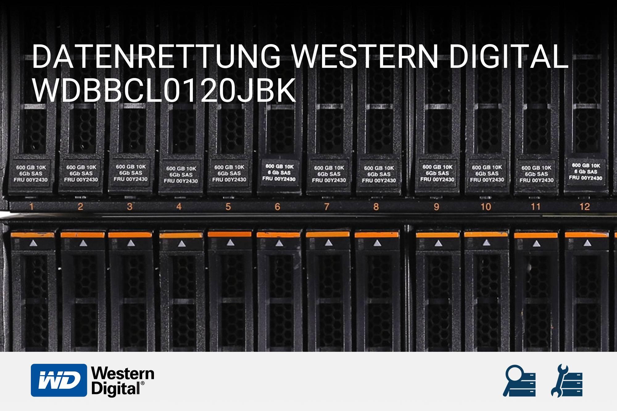 Western Digital WDBBCL0120JBK