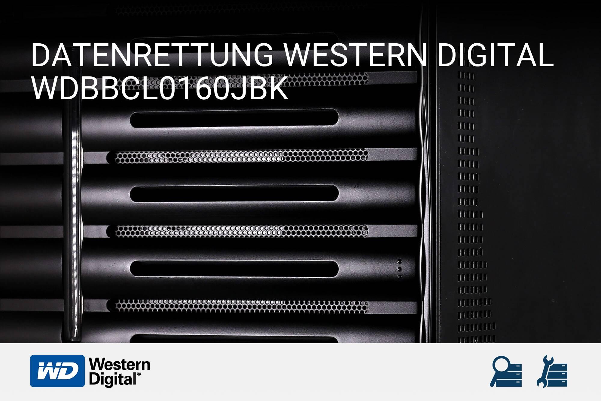 Western Digital WDBBCL0160JBK