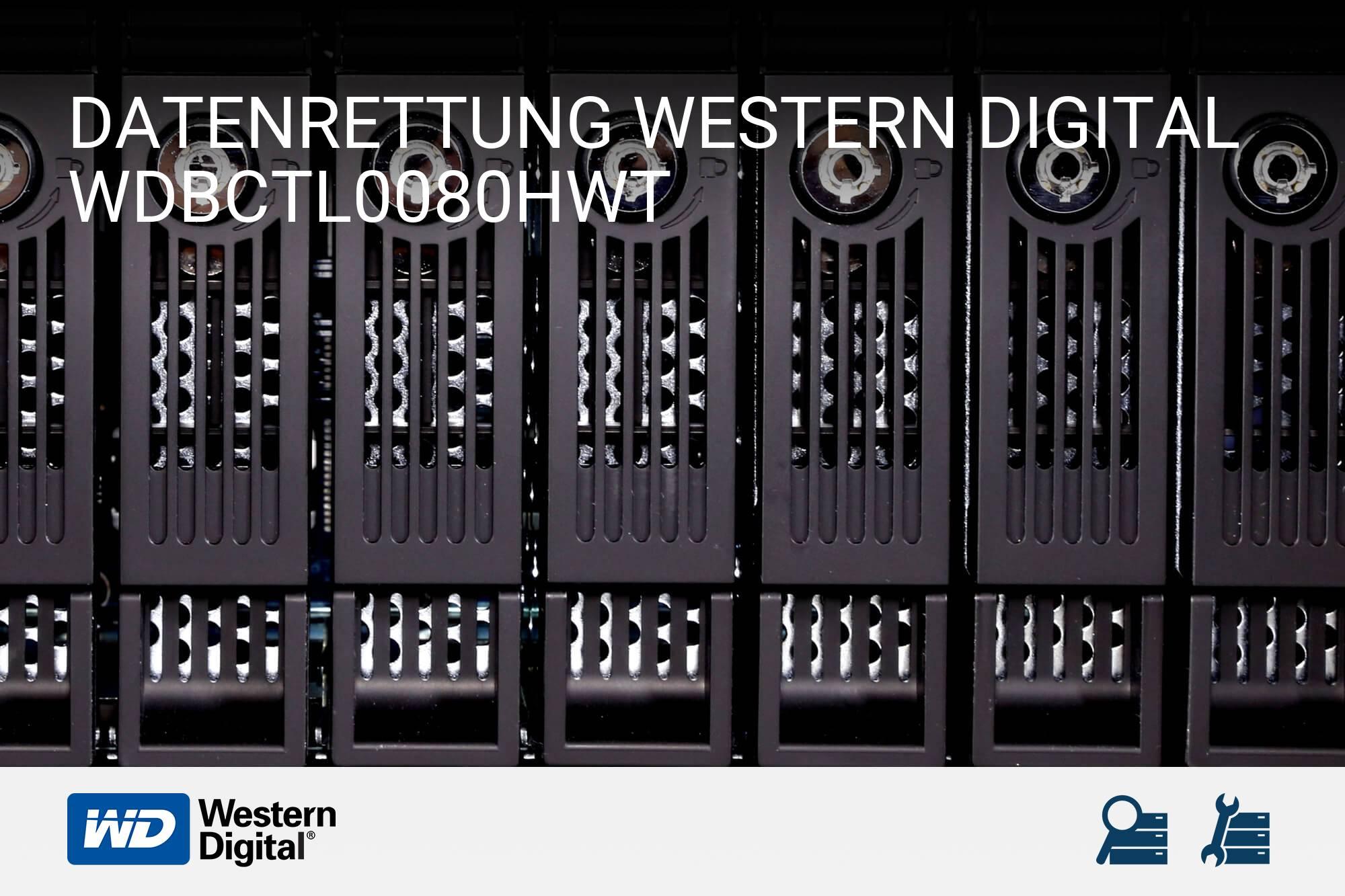 Western Digital WDBCTL0080HWT