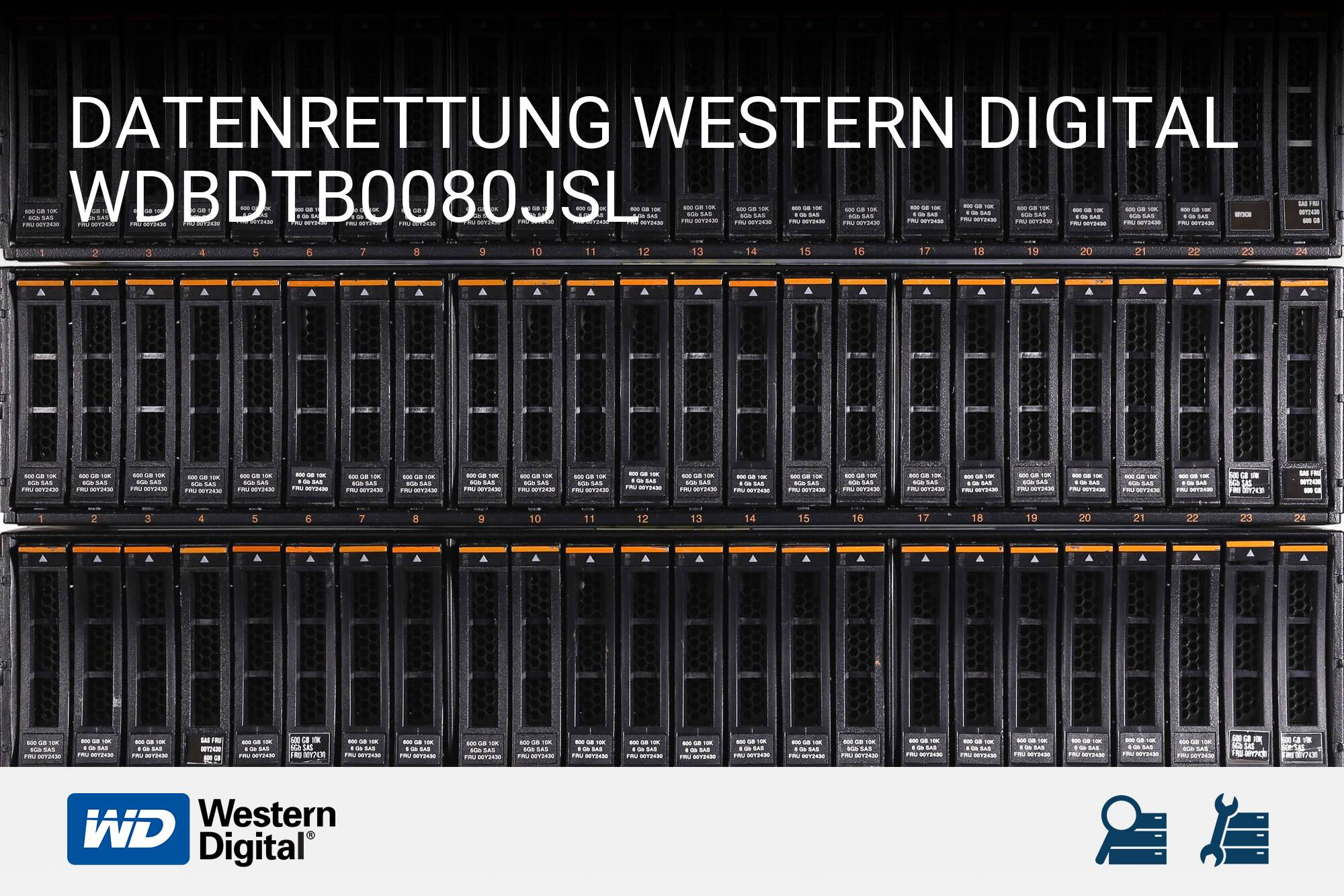 Western Digital WDBDTB0080JSL