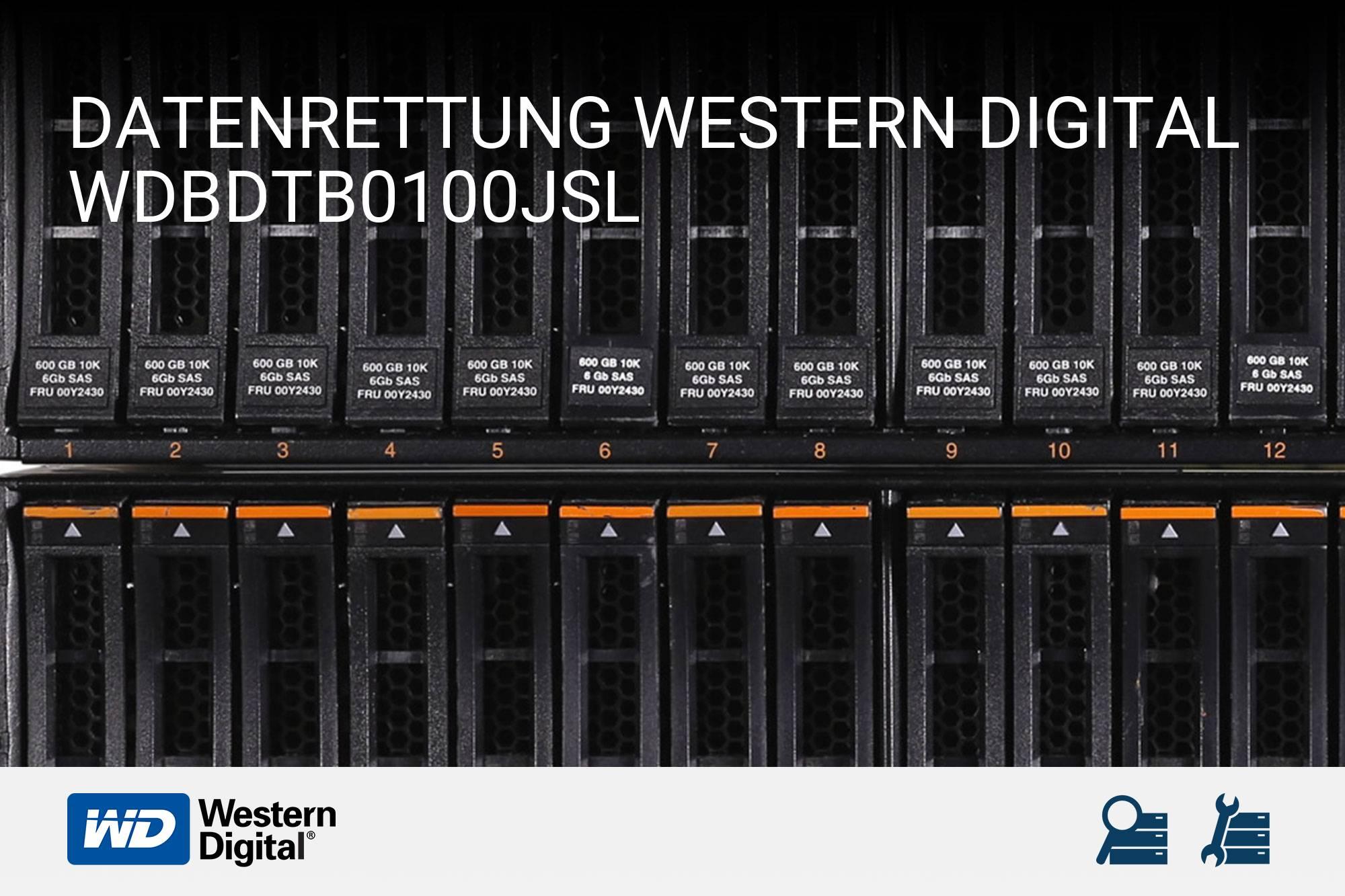 Western Digital WDBDTB0100JSL