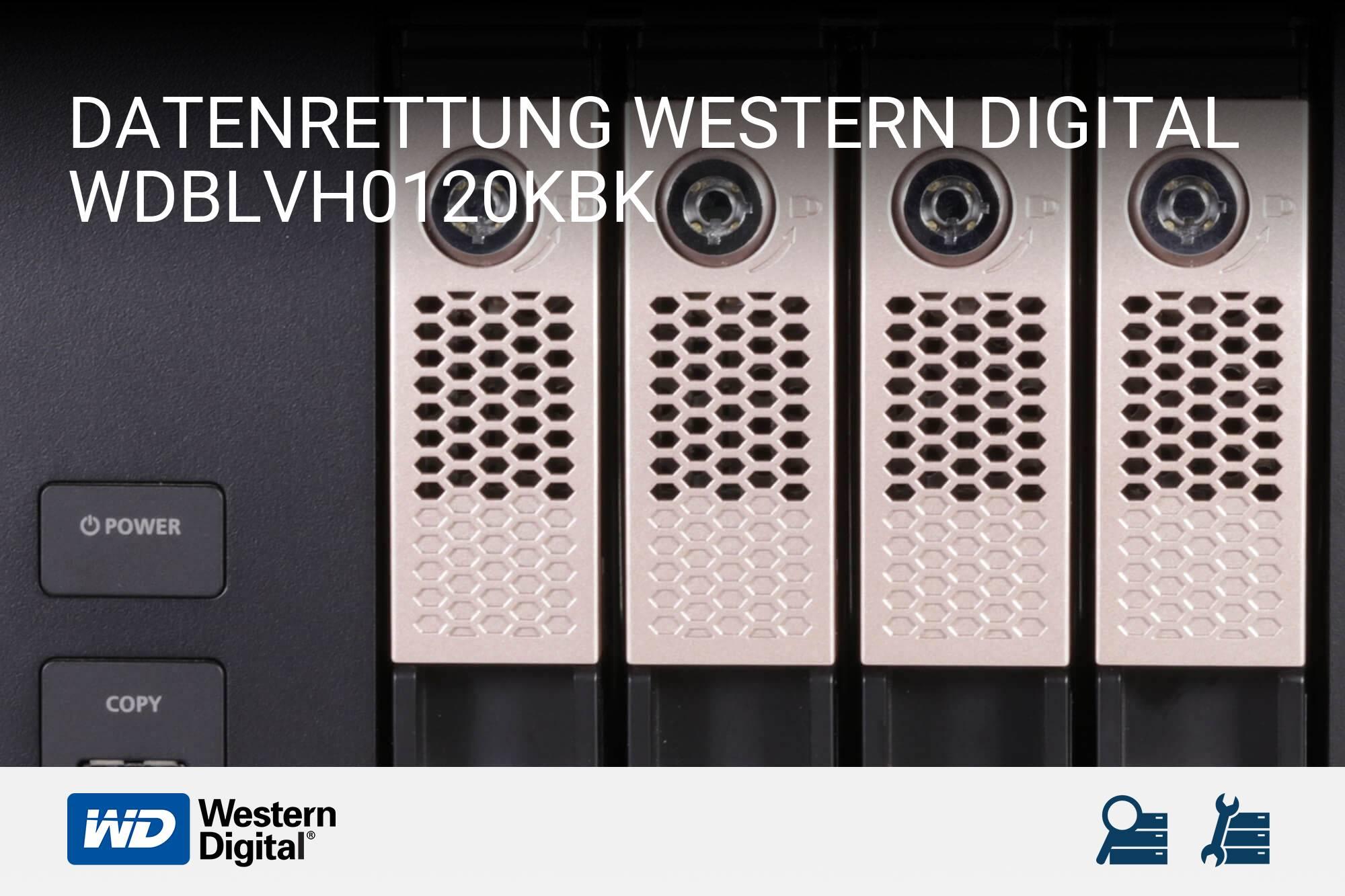 Western Digital WDBLVH0120KBK