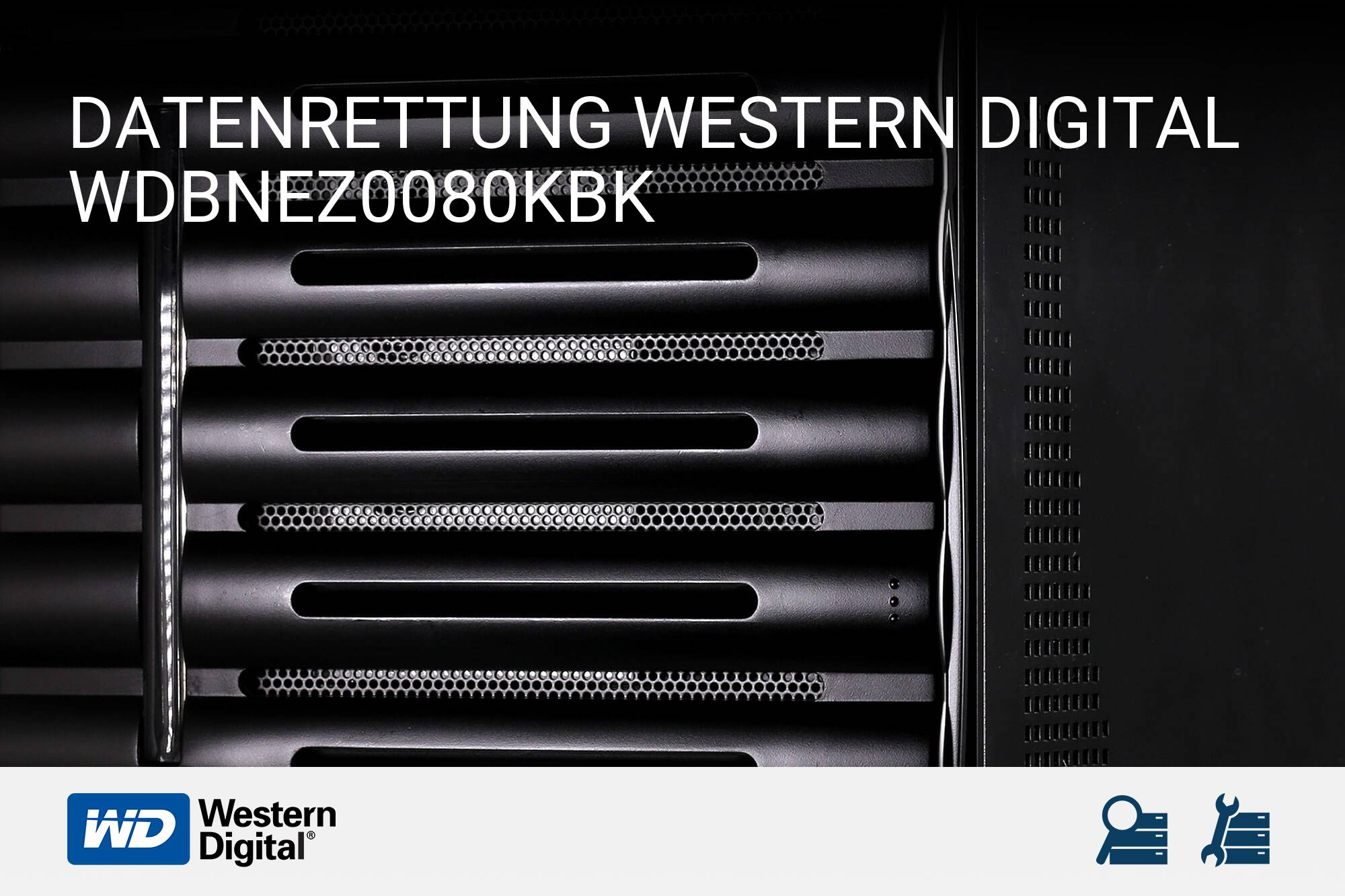 Western Digital WDBNEZ0080KBK