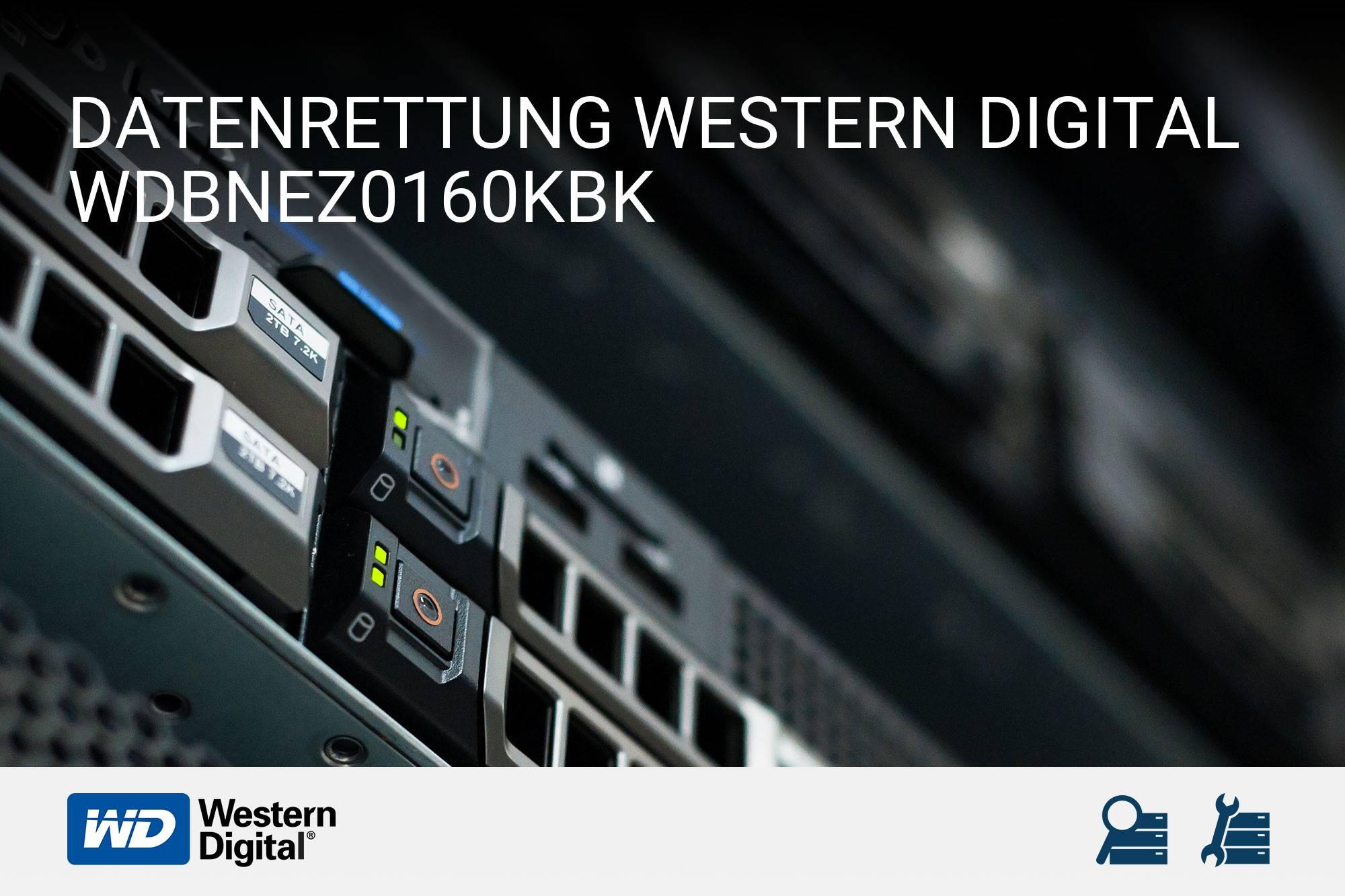 Western Digital WDBNEZ0160KBK