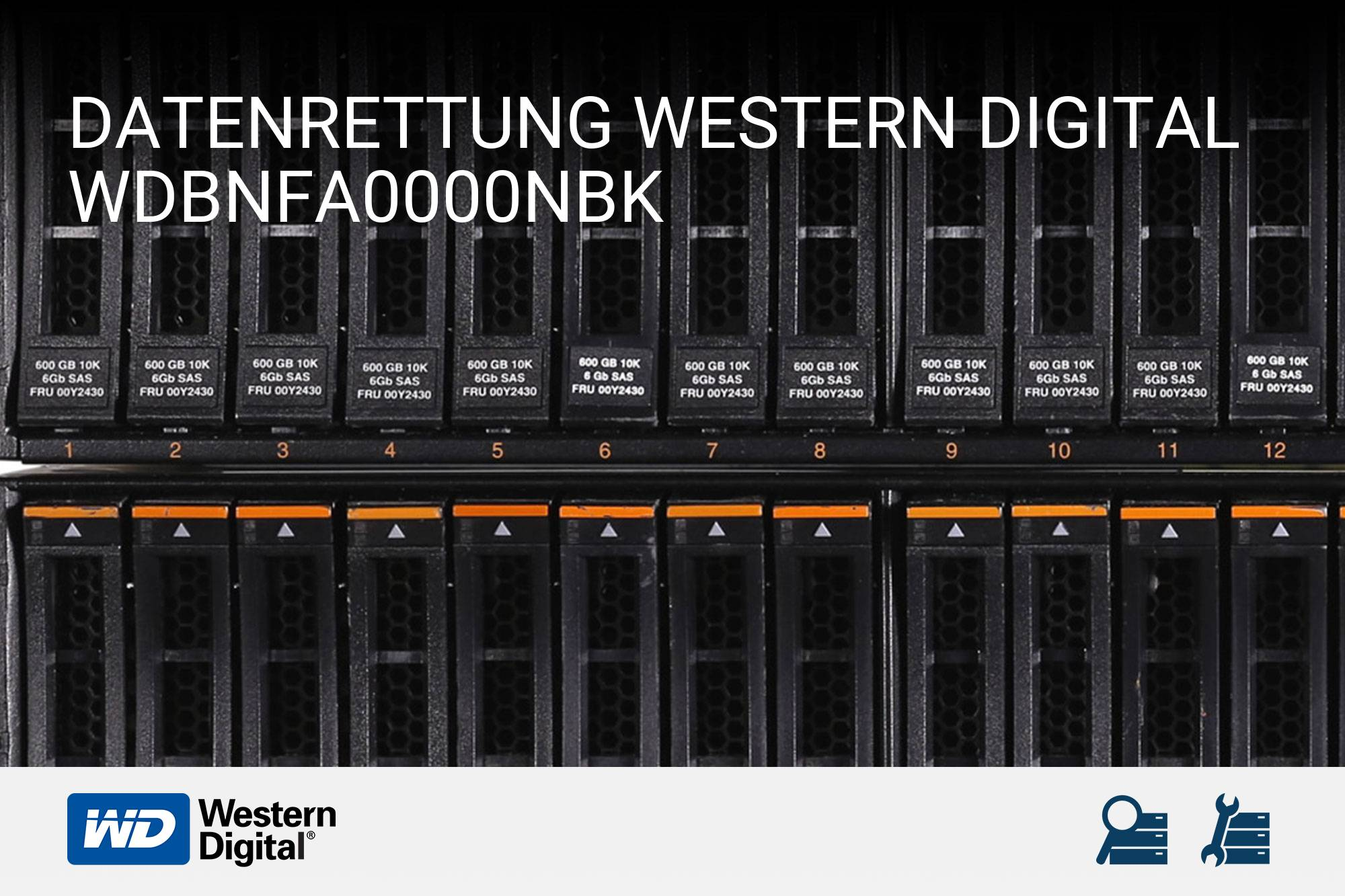 Western Digital WDBNFA0000NBK