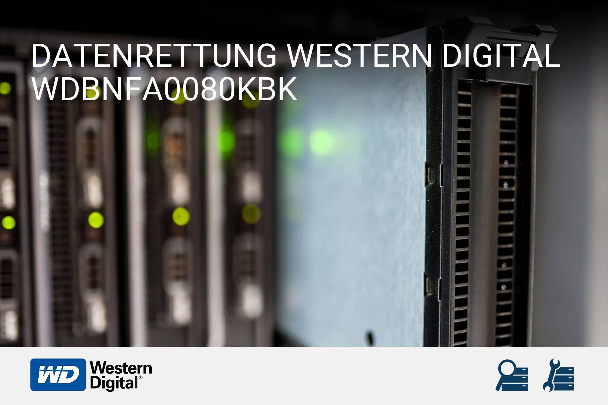 Western Digital WDBNFA0080KBK