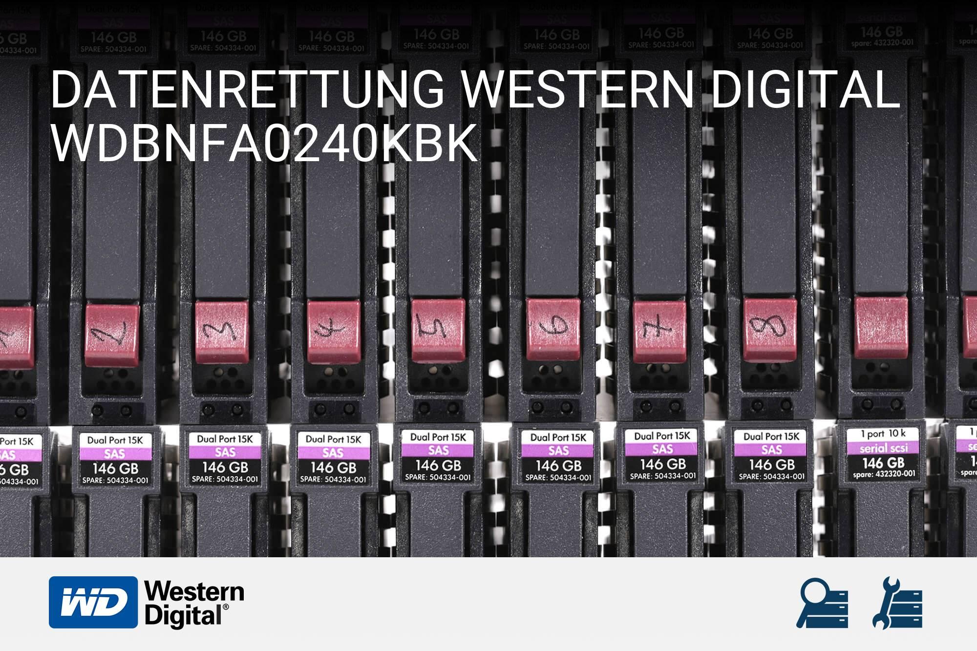 Western Digital WDBNFA0240KBK