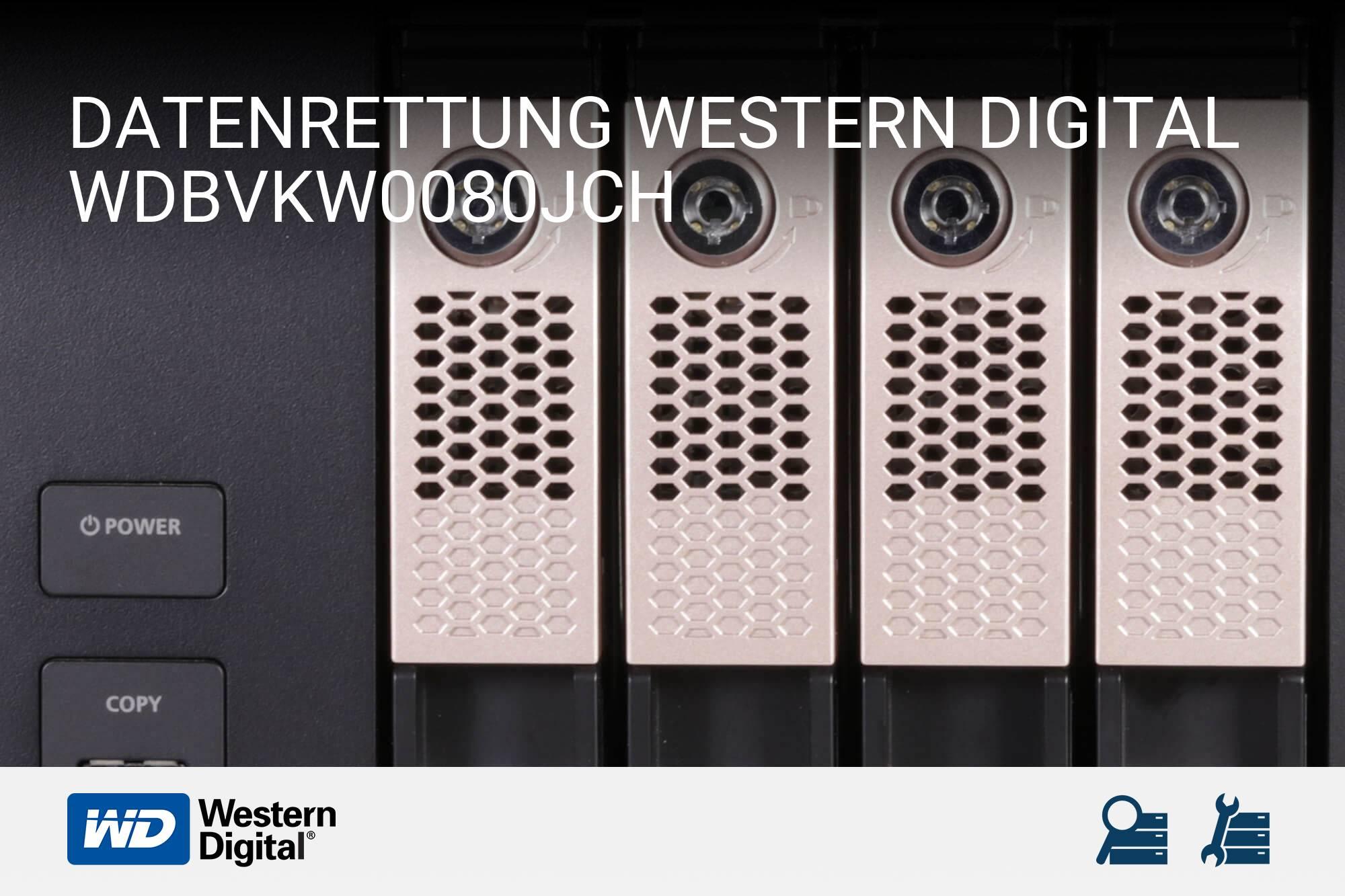 Western Digital WDBVKW0080JCH