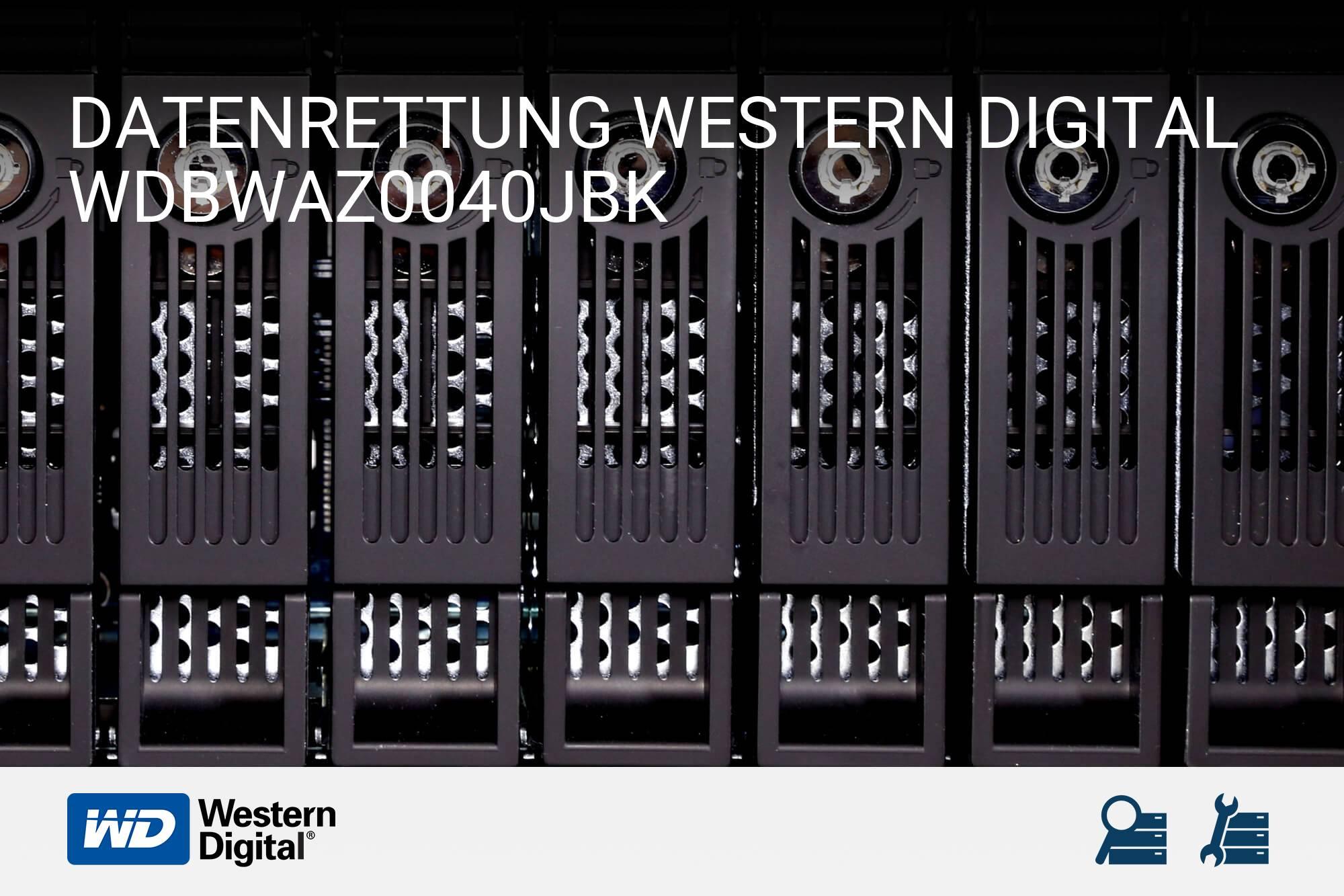 Western Digital WDBWAZ0040JBK