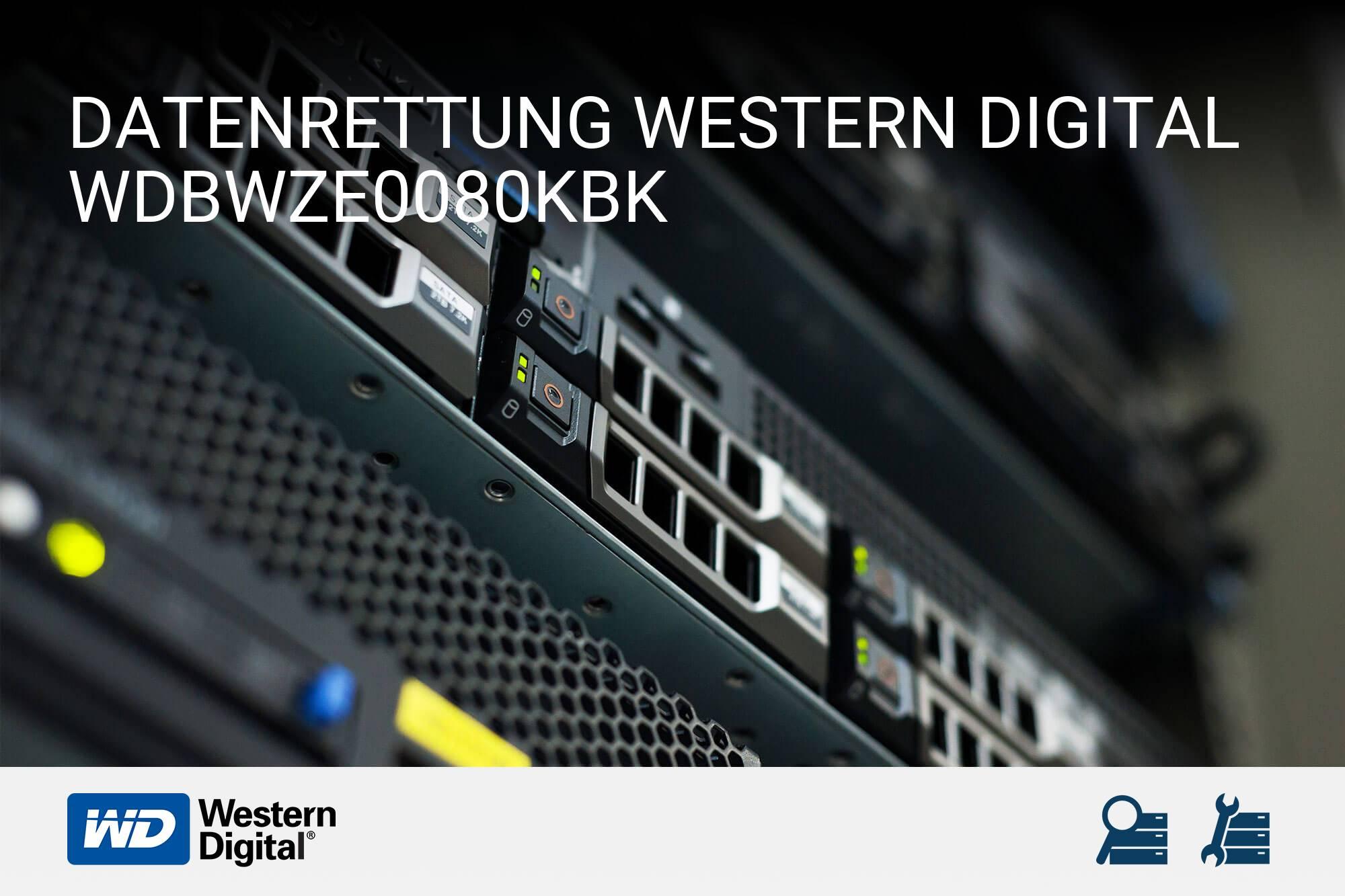 Western Digital WDBWZE0080KBK