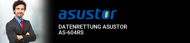 Datenrettung Asustor AS-604RS