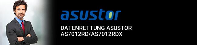 Datenrettung Asustor AS7012RD/AS7012RDX
