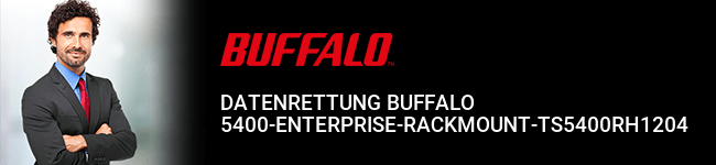 Datenrettung Buffalo 5400-Enterprise-Rackmount-TS5400RH1204