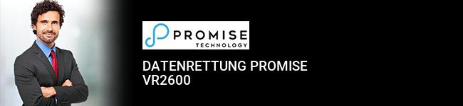 Datenrettung Promise VR2600