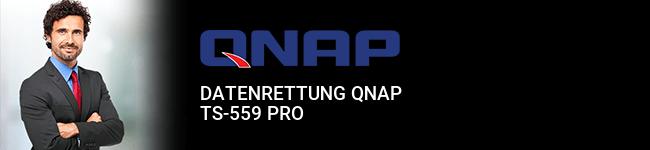 Datenrettung QNAP TS-559 Pro