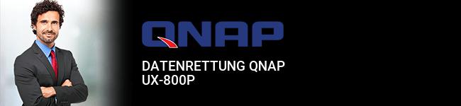 Datenrettung QNAP UX-800P
