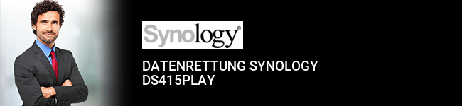 Datenrettung Synology DS415play