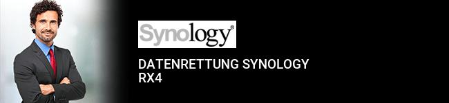 Datenrettung Synology RX4
