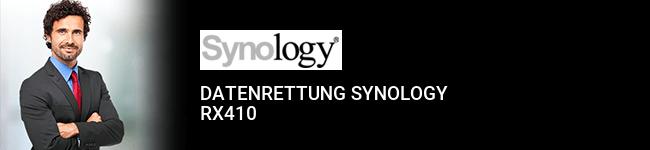 Datenrettung Synology RX410