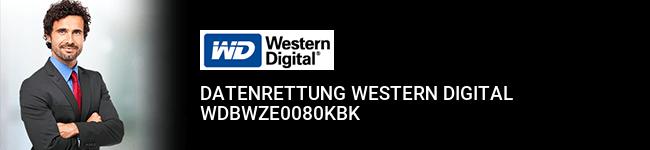 Datenrettung Western Digital WDBWZE0080KBK