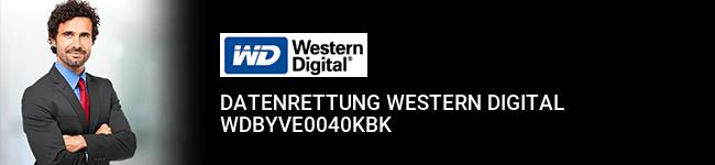 Datenrettung Western Digital WDBYVE0040KBK