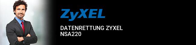 Datenrettung ZyXEL NSA220